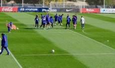 غريزمان يغيب عن تدريبات اتلتيكو مدريد