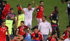 مصر تدفع ضريبة التأهل الى مونديال روسيا