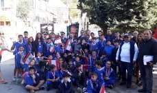 نشاطات الاستقلال لحركة لبنان الشباب