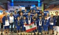 10 أرقام و39 ذهبية لنادي النجاح في بطولة الدوحة بالسباحة