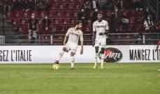 رين يقلب تأخره ويحقق فوزا مثيرا على موناكو بهدفين مقابل هدف