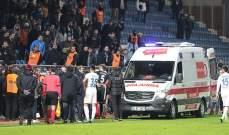 وفاة مدير رياضي لنادي تركي خلال مباراة كرة قدم