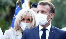 الرئيس الفرنسي يؤكد دعمه لباريس سان جيرمان ويشيد بفريق ليون امام البايرن