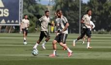 ريال مدريد يستعيد بايل قبل مواجهة إيبار