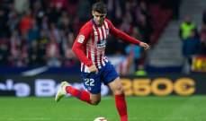 اتليتيكو مدريد يُؤكد اصابة موراتا