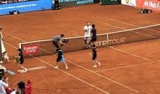 ثيم يقصي فيدرر ويتأهل الى نصف نهائي بطولة مدريد للتنس