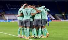 الدوري الانكليزي: سقوط ليستر امام ايفرتون تعثر ارسنال وفوز ليدز