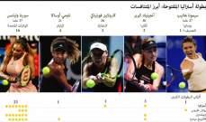 بطولة أستراليا المفتوحة: خمس لاعبات للمتابعة