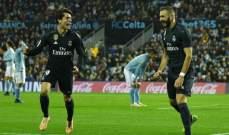 تقييم لاعبي مباراة ريال مدريد وسيلتا فيغو