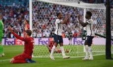 أمم اوروبا 2020: انكلترا تضرب موعداً مع الاتزوري في النهائي بفوزها امام الدنمارك