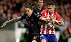 اتلتيكو مدريد يستهدف ظهير ارسنال المصاب