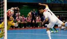 كرة الصالات في اسيا :ايران تتصدر مجموعتها بعد الفوز على العراق