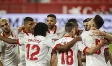 الدوري الإسباني: فوز ثمين لإشبيلية على أوساسونا