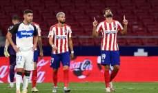 الدوري الإسباني: اتلتيكو يفوز على ألافيس