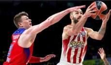 اليوروليغ : أولمبياكوس اليوناني يحجز مقعده في النهائي