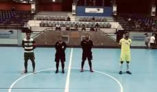 كأس لبنان للصالات: جونية الى النهائي على حساب الامن العام