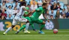 ريال سوسييداد يخطف الفوز خارج الديار امام سيلتا فيغو