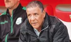 الدفاع الجديدي المغربي يعلن انفصاله عن مدربه الجزائري