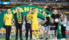 تيم كاهيل ينشر فيديو الوداع الاخير مع استراليا بعد مباراة لبنان