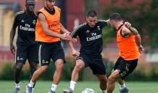 غيابات في تدريبات ريال مدريد