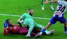 لوبيز رغم سنه  يتألق وكورتوا يثبت مرة جديدة عن اهميته في ريال مدريد