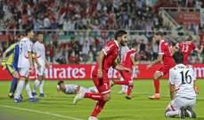 لبنان يحقق فوزًا تاريخيًّا ويودع كأس اسيا وقطر تسقط السعودية