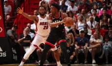 تورنتو ثاني فريق يحسم تأهله الى نهائيات NBA لهذا الموسم