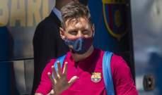 ميسي اخبر برشلونة بقراره منذ اسابيع