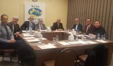 كرة طاولة: المكتب التنفيذي لإتحاد البحر الأبيض المتوسط إنعقد في بيروت