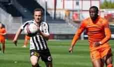 الدوري الفرنسي: تعادل ايجابي يحسم مواجهة انجيه ومونبيليه