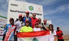 لبنان اول الدول العربية في تصنيف الاتحاد الدولي للدراجات