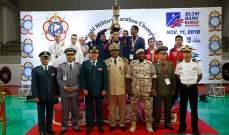 اختتام بطولة العالم العسكرية الـ 50 للماراثون