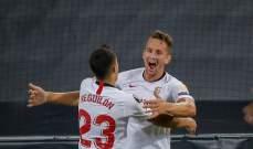 اشبيلية يدخل التاريخ باللقب السادس في الدوري الاوروبي بفوزه المثير امام انتر ميلانو