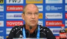 مدرب عمان فخور بلاعبيه رغم الخروج من كأس آسيا