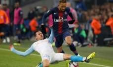 نيمار: المباراة كانت صعبة امام مارسيليا ويعترف باهمية مبابي ورابيو