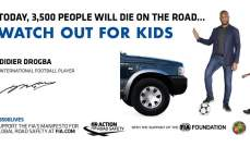 سائقون من 49 بلد يدعمون حملة حماية الأطفال