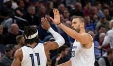 NBA: الكليبرز وميمفيس يتقدمان على الواريرز وكليفلاند يسقط للمرة 13