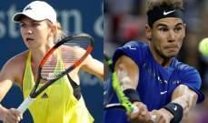 هاليب ونادال يحافظان على صدارة تصنيف التنس