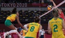 طوكيو 2020: سيدات البرازيل يتقدمن في مسابقة الكرة الطائرة