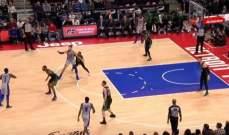 NBA: بيستونز يستعيد نغمة الفوز امام سيلتيكس