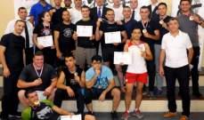 بطولة لبنان للكونغ فو- أسلوب توي شو: المركز الاول للجيش اللبناني