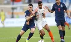 كأس امم آسيا: الهند تسحق تايلاند برباعية وسط تألق سونيل