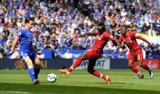 ليفربول يعزز صدارته بفوز رابع على التوالي بعد اسقاطه ليستر سيتي