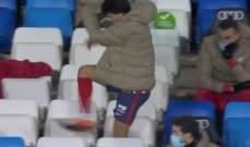 جواو فيليكس يخرج غاضبا من ديربي مدريد