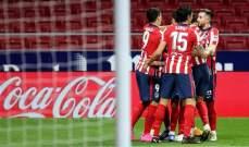 الدوري الاسباني: فوز عريض لأتلتيكو مدريد على الضيف قاديش