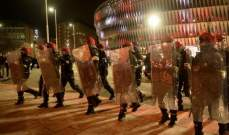 مصرع شرطي اسباني قبل مباراة اتلتيك بيلباو وسبارتاك موسكو