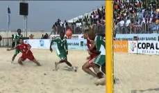 كرة الشاطىء: جولة على الاندية وشجونها ومشكلتها مع كرة القدم العادية