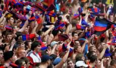 سيسكا موسكو يواجه عقوبة بسبب اتهامات لجماهيره بالعنصرية ضد لاعبي ارسنال