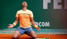 نادال اسطورة كرة المضرب على الملاعب الترابية !