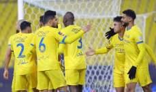 الدوري السعودي: فوز ثمين للنصر وسقوط الأهلي وتعادل الهلال